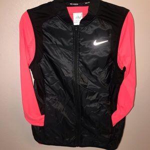 Women's Nike Running Vest in Black/Medium